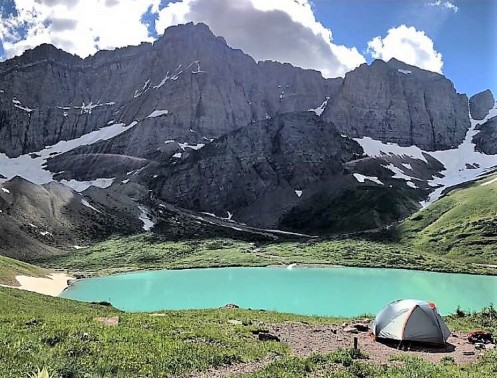 Glacier_cracker lake campsite