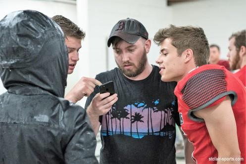 Josh Lockhart filming Bates